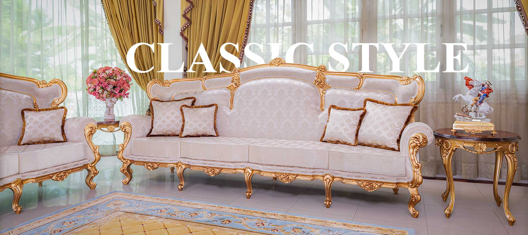 Italian Style Factory Seveso Mb classic italian furniture - luxury furniture italy by deluxe